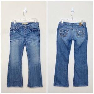 BKE Star Stretch Bootcut Jeans Size 27